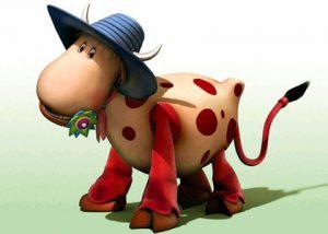 Azalée, la vache du Manège enchanté