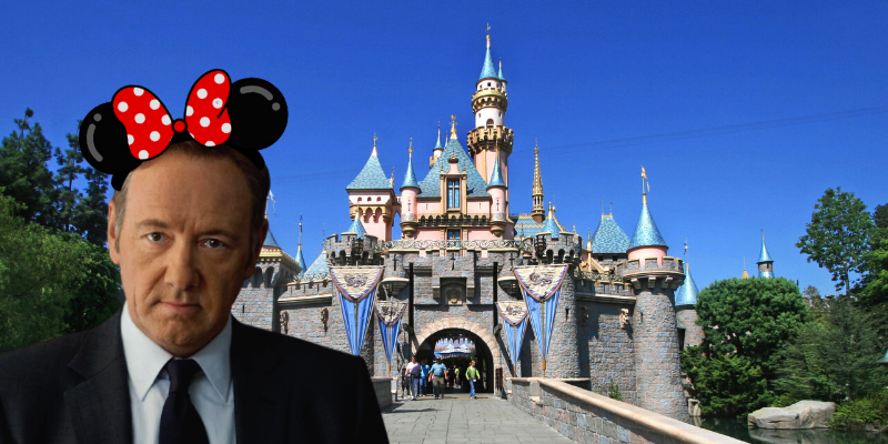 Scoop: Frank Underwood now works at Disneyland - On a eu Show