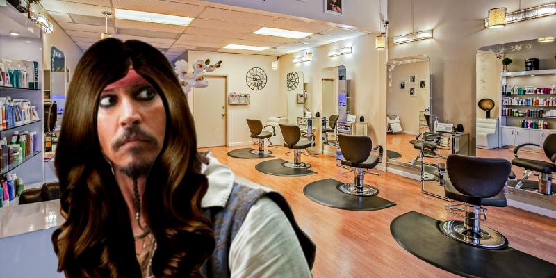 """Jack Sparrow : """"Le lissage, ça change la vie."""""""
