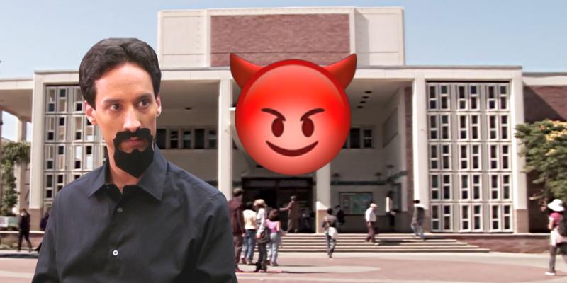 Community : L'Abed diabolique trouve notre époque formidable -Crazy Poppins