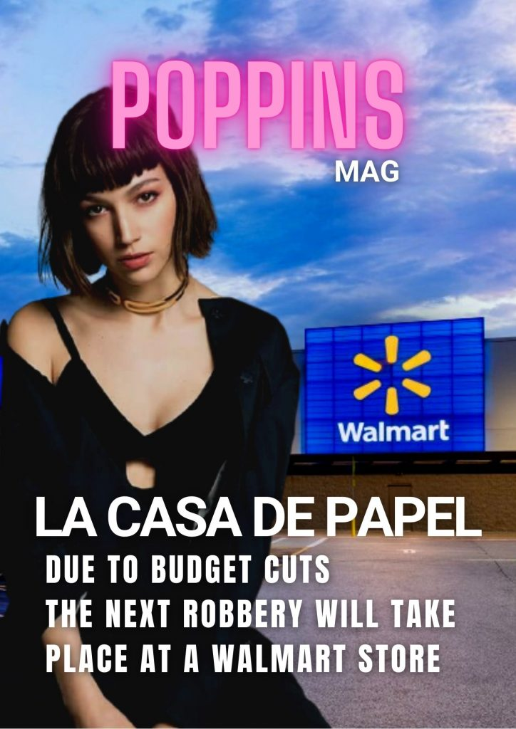 Casa de Papel: due to budget cuts the next robbery will take place at a walmart store