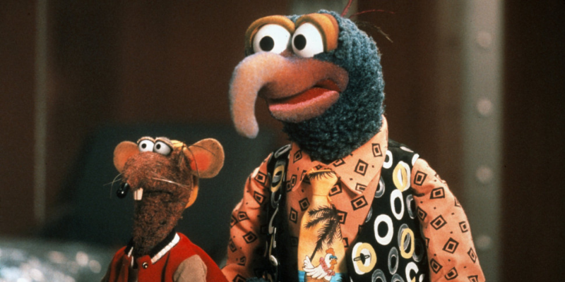 Les Muppets dans l'espace Muppets in space Gonzo Rizzo the rat conseil Crazy Poppins