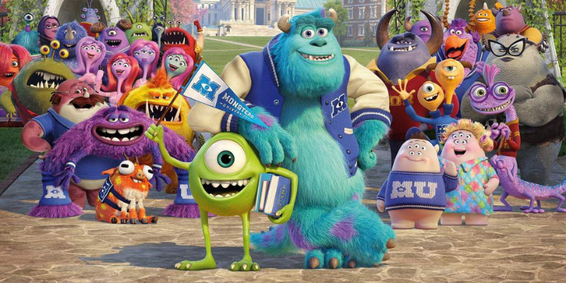 Monstres Academy Monsters University conseil Crazy Poppins