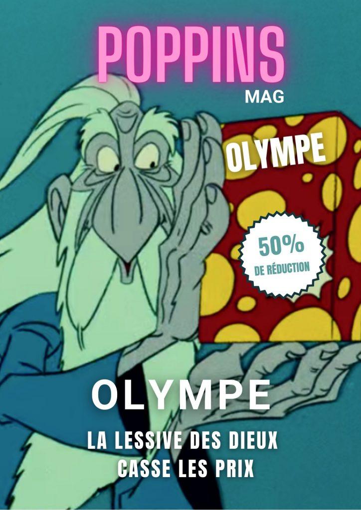 Olympe : la lessive des dieux casse les prix
