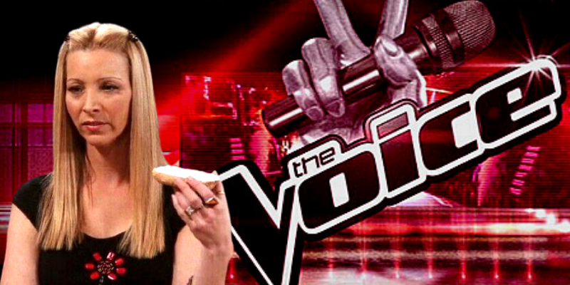 Phoebe Buffay Rejected by The Voice They Couldn't see my potential