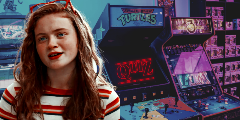 Stranger Things Quiz what retro game will you be trapped in Arcade Max