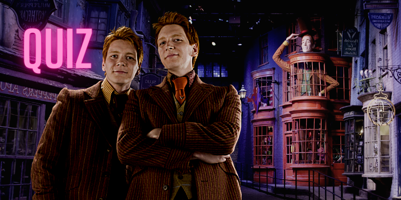 Quiz: What Weasleys' Wizard Wheeze will make you sizzle