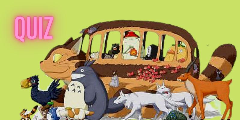 Quiz très bête(s) pour fans Ghibli ok