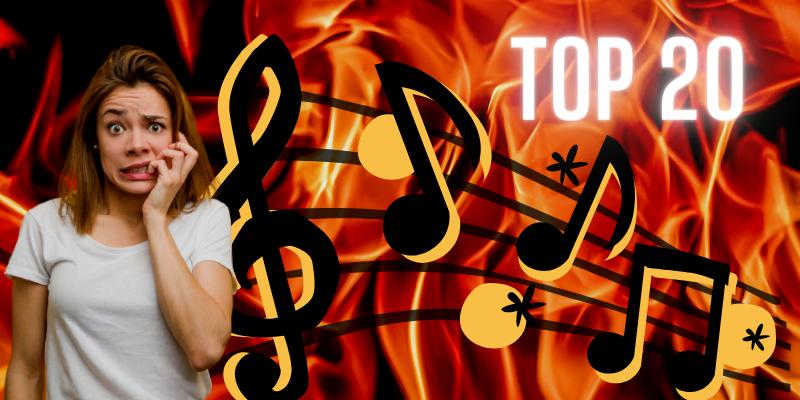 Top 20 des chansons que vous entendrez en enfer