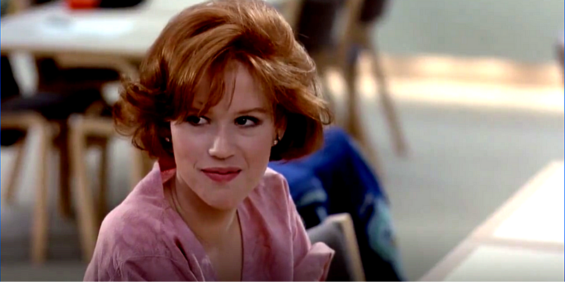 breakfast club Molly Ringwald Claire Standish conseil Crazy Poppins