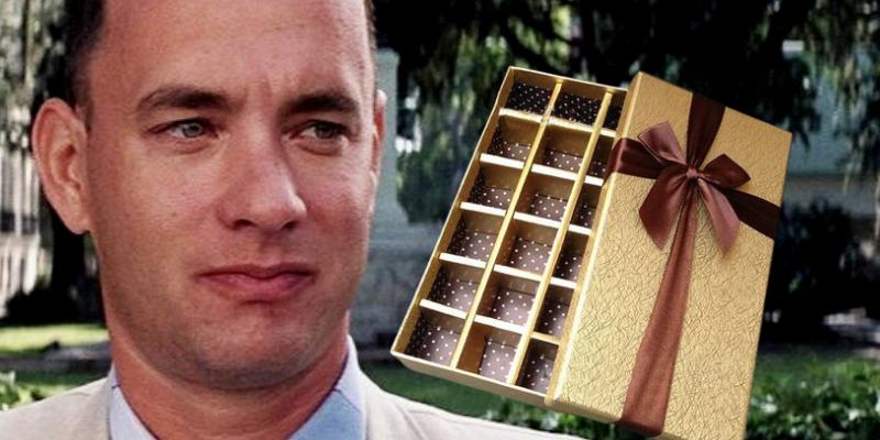 Scandale : qui a fini la boîte de chocolats de Forrest Gump ?