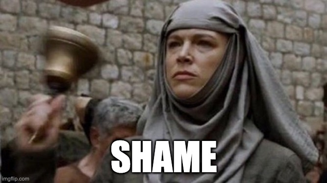 shame meme game of thrones large picture