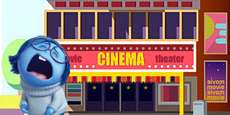 """Coup de gueule de Tristesse dans Vice Versa : """"Je veux aller au cinéma !"""""""