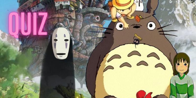 Quiz prise de tête pour les fans de Ghibli