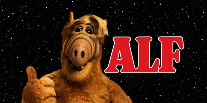 Alf série marionnette années 80 sitcom drôle conseil Crazy Poppins