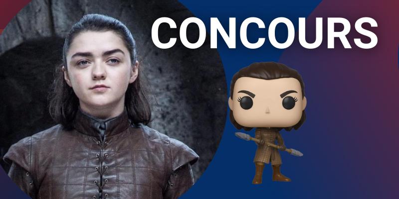 Arya concours funko pop game of thrones