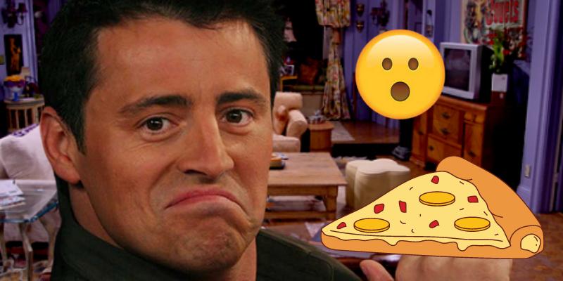 Friends Joey banni du groupe pour avoir commandé une pizza hawaïenne