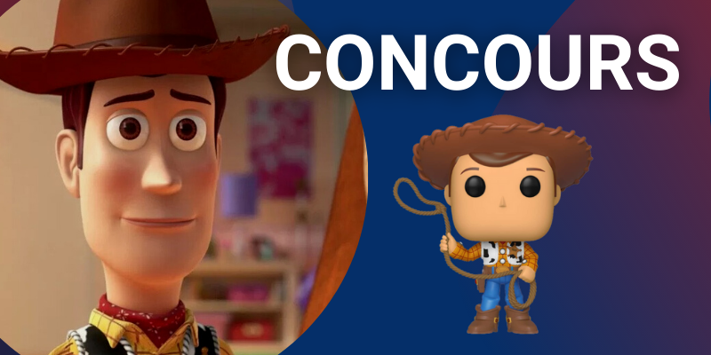 Funko Pop Woody concours Toy Story Crazy Poppins