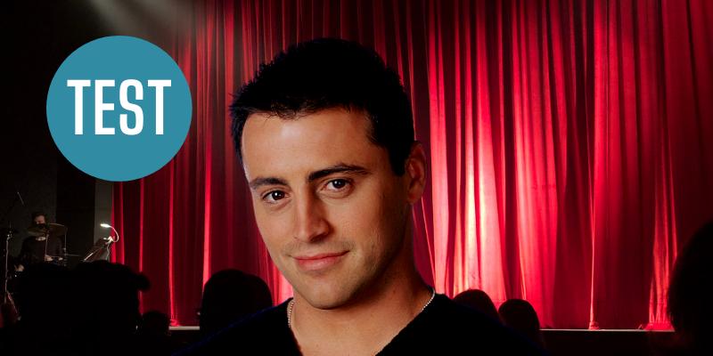 Test dans quel show allez-vous jouer avec Joey Friends