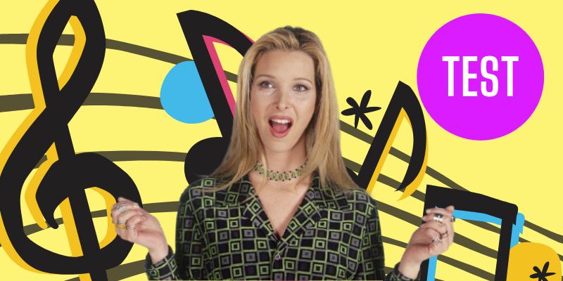 test Friends quelle chanson de Phoebe êtes vous