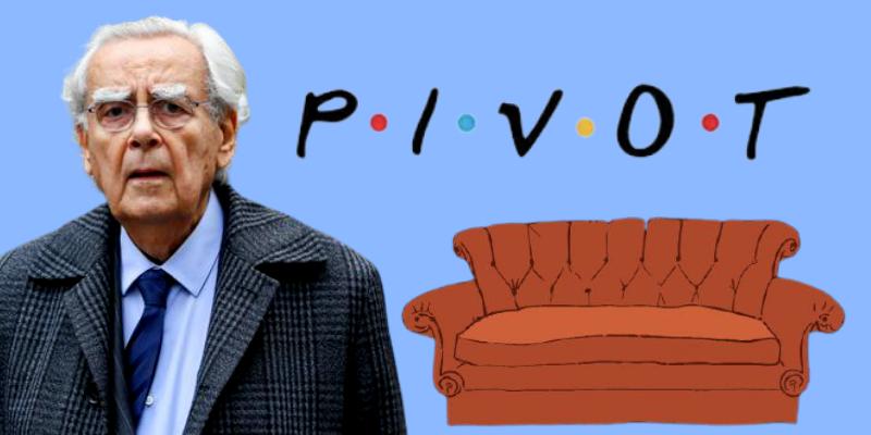 """Bernard """"Pivot"""" intrigué par la scène du canapé dans Friends"""