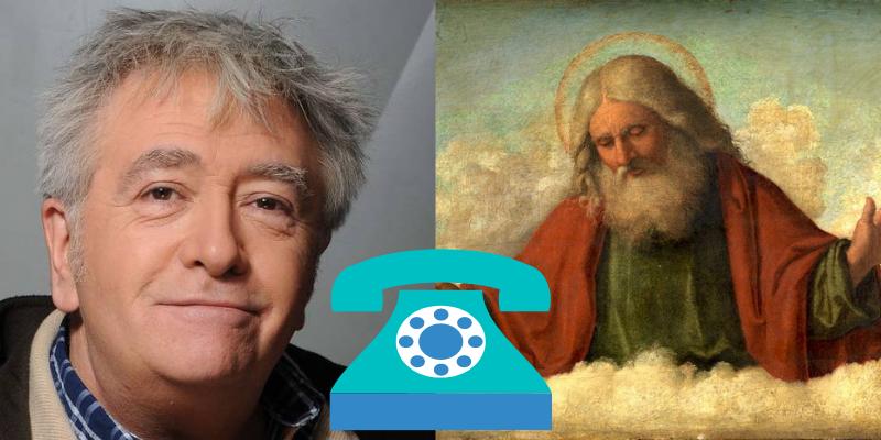 Jean-Yves Lafesse fait maintenant des canulars téléphoniques à Dieu