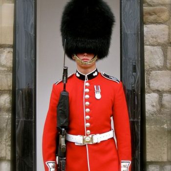 garde de Buckinghman Palace